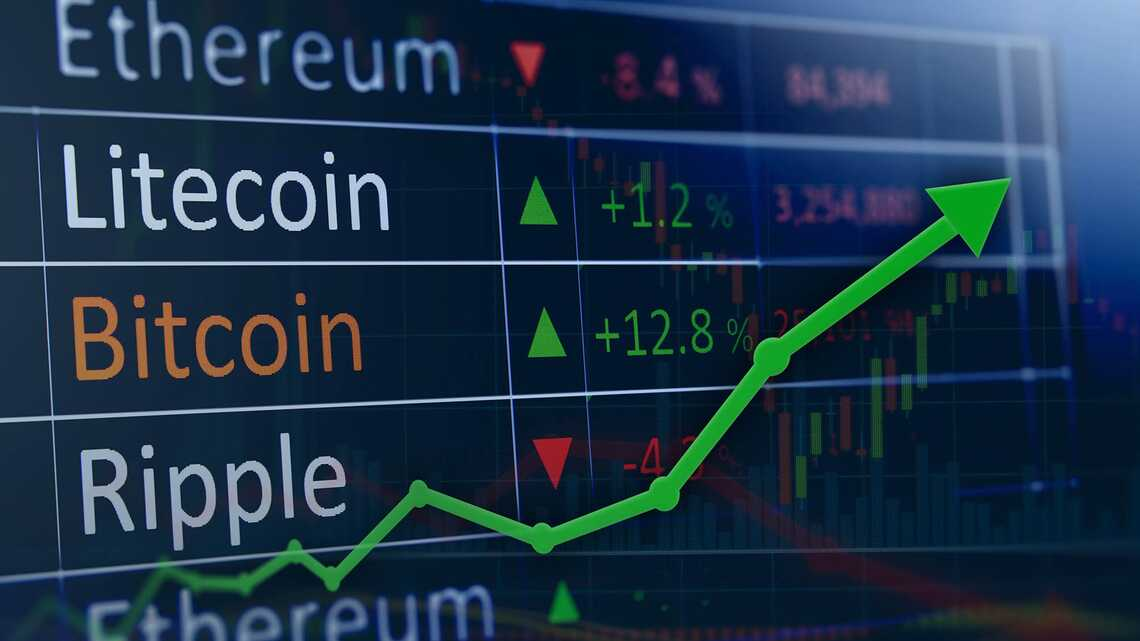 Top Cryptocurrency prices today